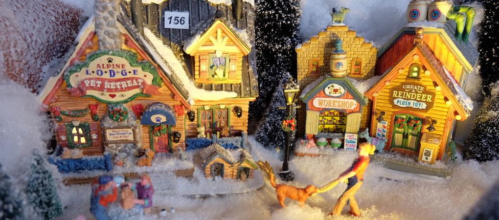 De mooiste kersthuisjes vind je bij tuincentrum De Boet | Bestel online | DeBoet.nl