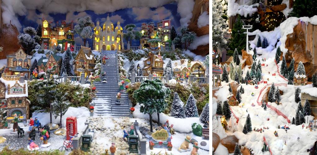 Lemax kerstboom, Dickensville Boom of Luville boom? | Miniatuur boom | Kerstdorp | Tuincentrum De Boet