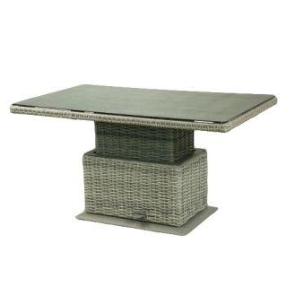 Caya verstelbare tuintafel - Light grey natural - afbeelding 2