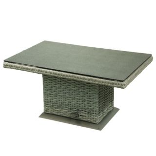Caya verstelbare tuintafel - Light grey natural - afbeelding 1