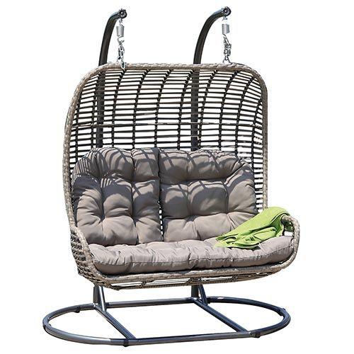 Hangstoel Voor 2 Personen.Elza Duo Hangstoel