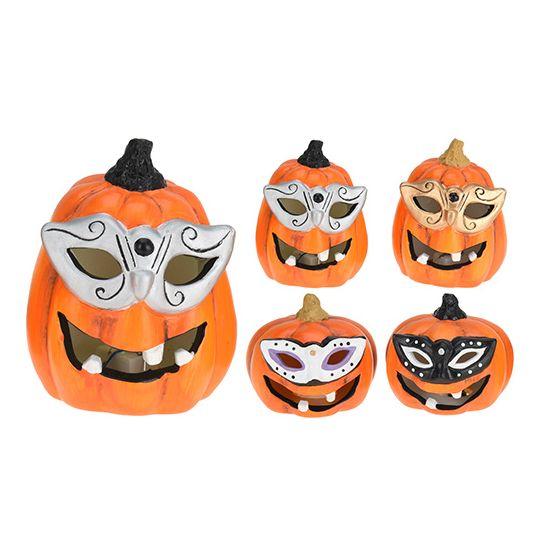 Bewegende Halloween Afbeeldingen.Halloween Led Pompoen Met Masker
