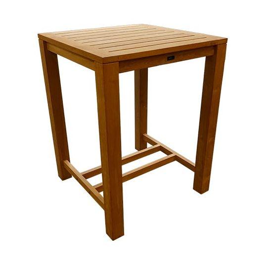 houten bartafel 80x80 cm koopt u bij tuincentrum de boet