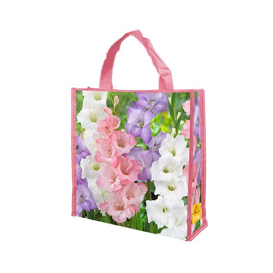 JUB Shopping bag 40 Gladiolus pastel mix - 40 st.
