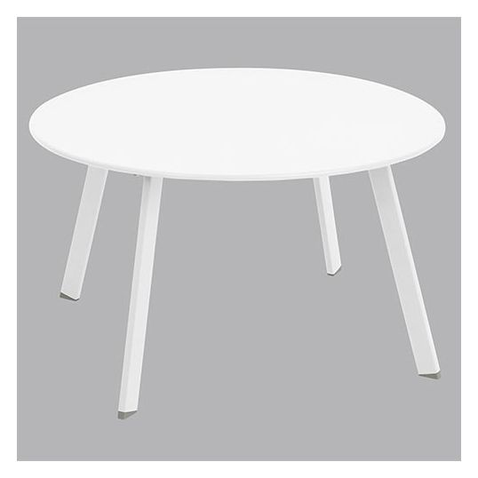 Side Table Wit.Side Table O70 Wit