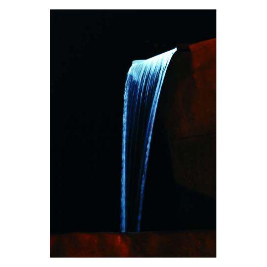 Rvs Waterval 60.Ubbink Niagara 60 Rvs Waterval Led
